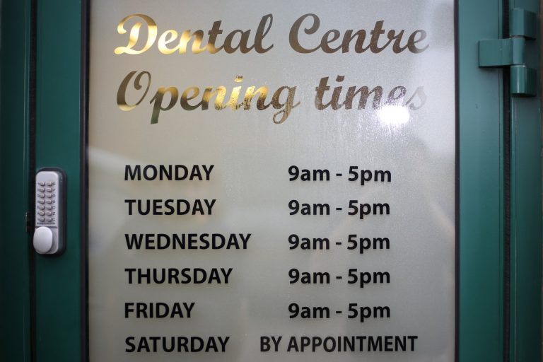 Basingstoke Dental Surgery Opening Times